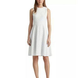-NWT- Ralph Lauren Floral Fit & Flare Dress 12